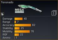 Toronado statistics