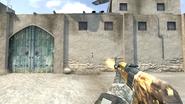 AK-47 Lion firing