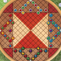 Board layout in four-player games