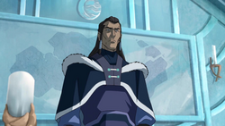 Unalaq ordering Korra's capture