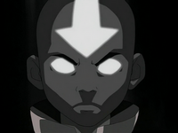 Aang in the Avatar State