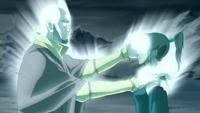 Aang restores Korra&#39