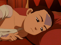 Aang unhappy