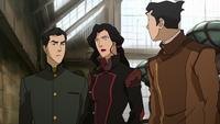 Mako, Asami, and Bolin