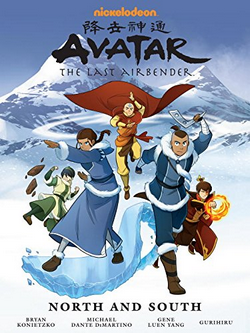 Image result for avatar north and south