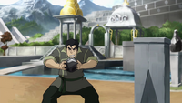 Bolin trying to metalbend