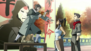 Korra with the protester.png