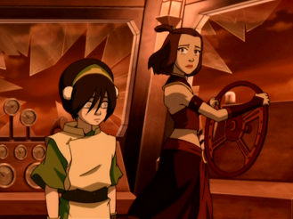 File:Toph and Suki.png