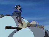 Katara and Aang chilling