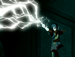 Zuko redirects lightning