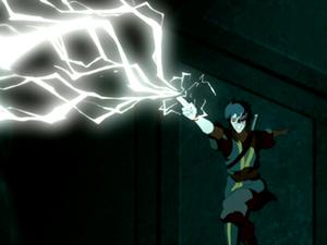Zuko redirects lightning