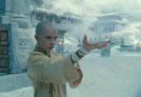 Film - Aang prepares to waterbend