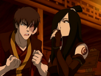 Zuko pleading with June