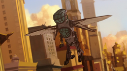 Hummingbird mecha suit