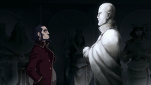 Bumi and Aang's statue.png
