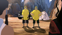 Bolin and Mako in disguises