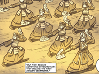 Kyoshi and her warriors