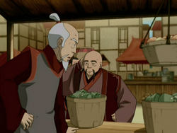 Fire Nation merchants