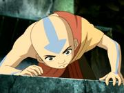 Aang investigates