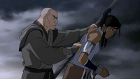 Zaheer captured Korra