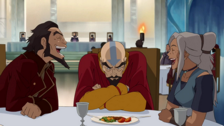 File:Bumi and Kya teasing Tenzin.png