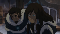 Korra and Tonraq captured