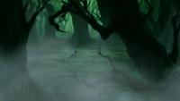 Korra in spirit forest