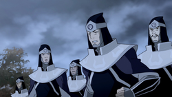 White Lotus sentries