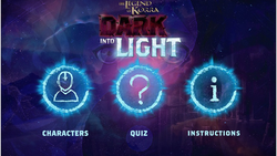 Dark Into Light Trivia Game