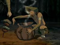 Foggy Swamp Tribesman cooking