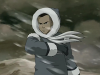 Sokka braves the storm