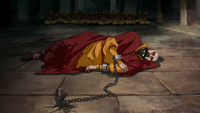 Tenzin in chains