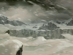 Polar climate in tundra