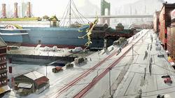 Republic City port