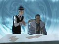 Tarrlok and the council page.png