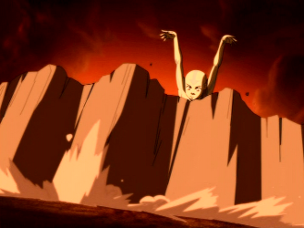 File:Aang blocking an attack by Ozai.png