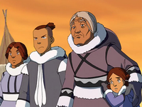 Sokka and Kanna