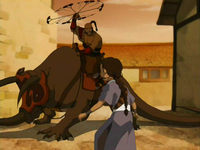 Ogodei attacks Katara