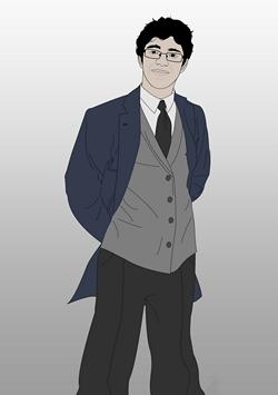 Philip-Hellene character design
