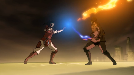 File:Korra and the Lieutenant.png