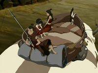 Appa's third saddle