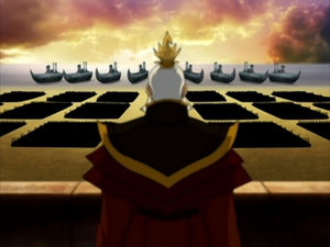Sozin and his army