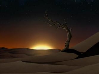 File:Desert sunset.png