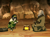 Toph and Iroh