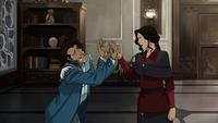 Asami hurting Varrick