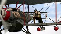 Biplane bombs