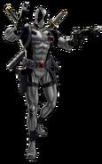 X-Force Deadpool Portrait Art