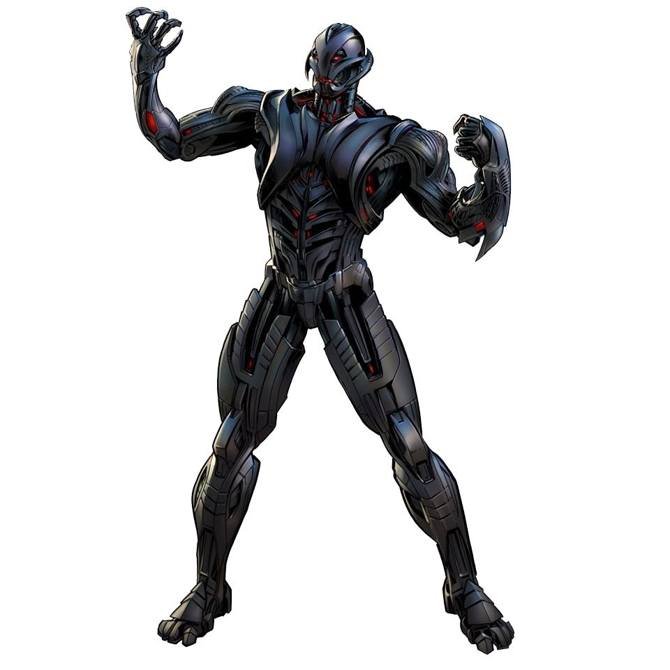Image Ultimate Ultron Portrait Art Png Marvel
