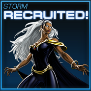 Storm Recruited
