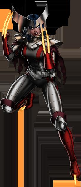 Image - Horseman of War X-23 Portrait Art.png | Marvel ... X 23 Marvel Avengers Alliance